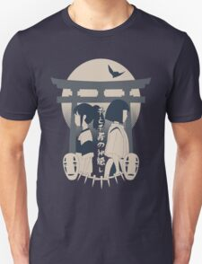 Spirited Away (blue) T-Shirt