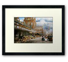 City - Kansas City farmers market - 1906 Framed Print