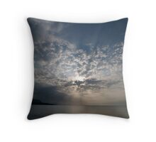 Sunset Sicily Throw Pillow