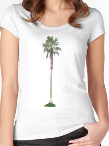 Lonely Palm Women's Fitted Scoop T-Shirt
