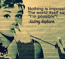 Audrey Hepburn by Independent  Empire