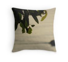 Pelican Sillouette Throw Pillow