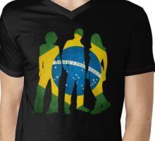 Brasileiros III Mens V-Neck T-Shirt