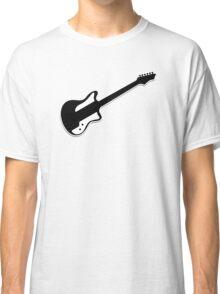 Electric Guitar Icon Symbol Classic T-Shirt