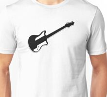 Electric Guitar Icon Symbol Unisex T-Shirt