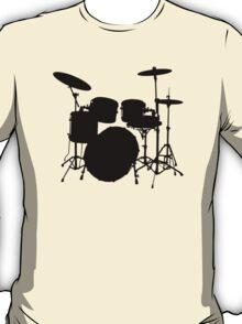 Drum Set Icon Symbol T-Shirt