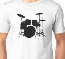 Drum Set Icon Symbol Unisex T-Shirt