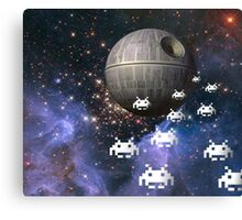 Star Invaders Canvas Print