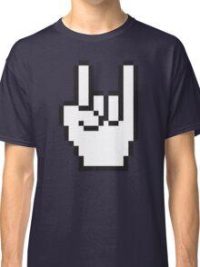 8 Bit Head Banger Symbol Classic T-Shirt