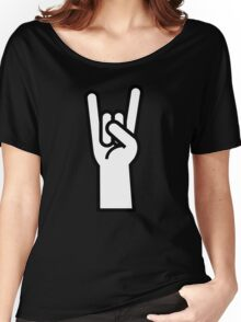 Heavy Metal Head Banger Women's Relaxed Fit T-Shirt