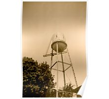 Pocasset Water Tower Poster