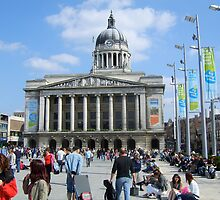 The Nottingham City Council House. by Lensman2008