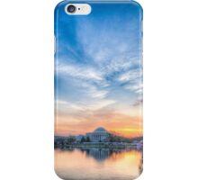 Jefferson Monument Springtime Sunrise iPhone Case/Skin