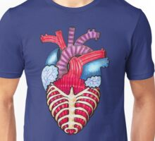 Caged Heart Unisex T-Shirt