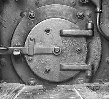 Locomotive Fuel Door by William Fehr