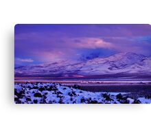 Easter Colors of Palomino Valley Canvas Print