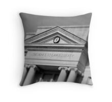 Obedience To Law Is Liberty Throw Pillow