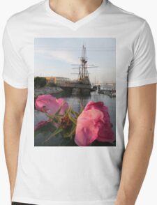 Mayflower's Flowers Mens V-Neck T-Shirt