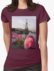 Mayflower's Flowers Womens Fitted T-Shirt