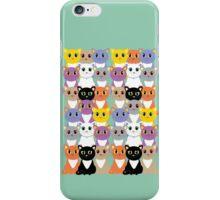 Only A Glaring Of Cats iPhone Case/Skin