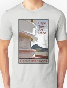 Cape Town Art Deco - Geriva Mansion T-Shirt