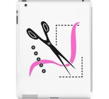 Sewing Scissors Seamstress Tailor iPad Case/Skin