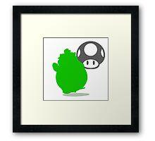 Smash Bros - Bowser Jr. Framed Print