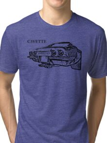 Chevrolet Corvette C3 Tri-blend T-Shirt
