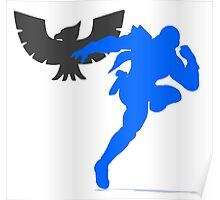 Smash Bros - Captain Falcon Poster
