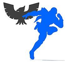 Smash Bros - Captain Falcon Photographic Print