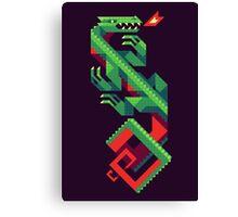 Fire Lizard Canvas Print