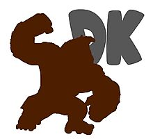 Smash Bros - Donkey Kong Photographic Print
