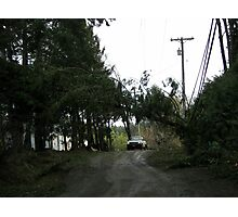 The aftermath of the December 11th, 2006 storm. Photographic Print