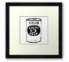 FIDLAR - Cheap Beer Framed Print