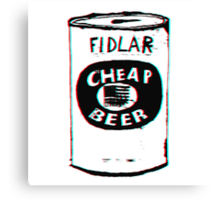 FIDLAR - Cheap Beer Canvas Print