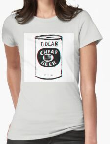 FIDLAR - Cheap Beer Womens Fitted T-Shirt