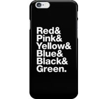 Morphin' Jetset iPhone Case/Skin
