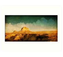 Pawnee Plains Art Print