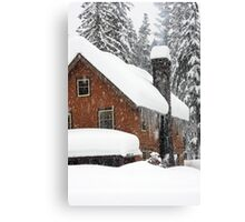 Longmire Lodge - Mt. Rainier, WA Canvas Print