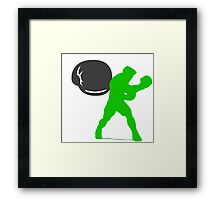 Smash Bros - Little Mac Framed Print