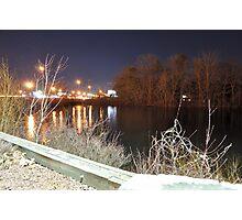 Williams Pond at Night Photographic Print