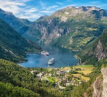 Norway, Geiranger fjord by MarcoSaracco