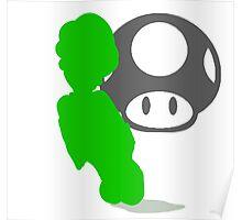 Smash Bros - Luigi Poster