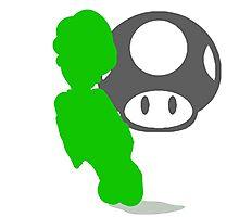 Smash Bros - Luigi Photographic Print