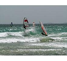Wind surfing. Photographic Print
