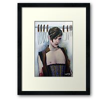 Inkpuss Framed Print