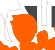 Smash Bros - Mii Fighter Sticker