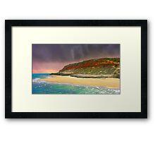 Deserted Shores Framed Print