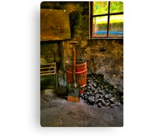 Warmth - State Mine Historical Park , Lithgow NSW - The HDR EXperience Canvas Print
