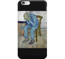 'At Eternity's Gate' by Vincent Van Gogh (Reproduction) iPhone Case/Skin